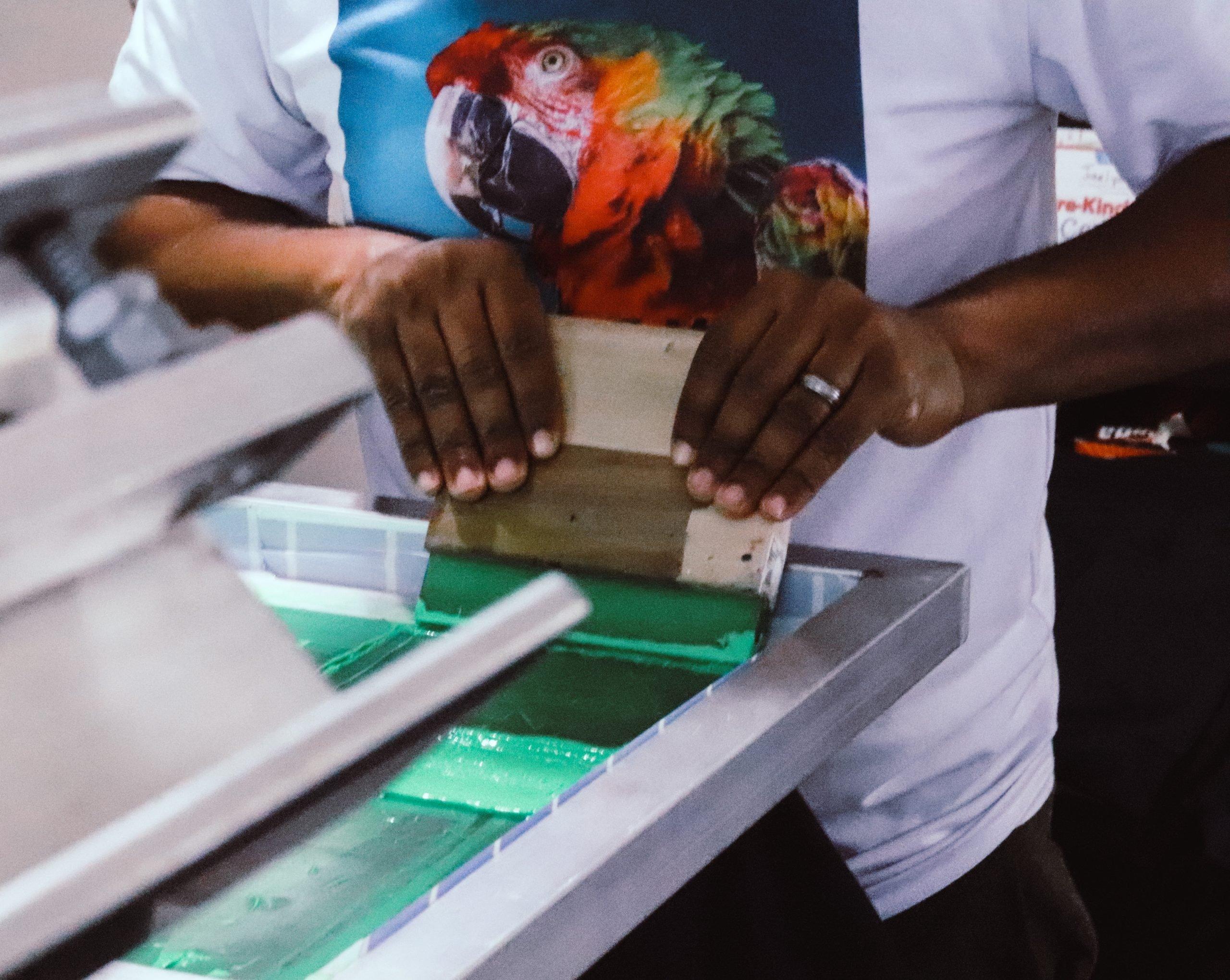 Tales Of A Screen Printer (Keep Pushing)