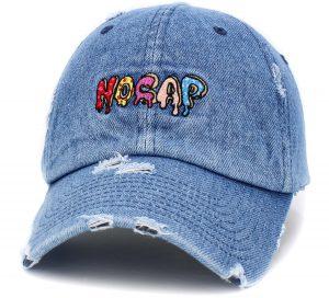 NO CAP DRIPPIN' VINTAGE DAD HAT