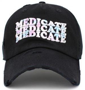 MEDICATE VINTAGE DAD HAT